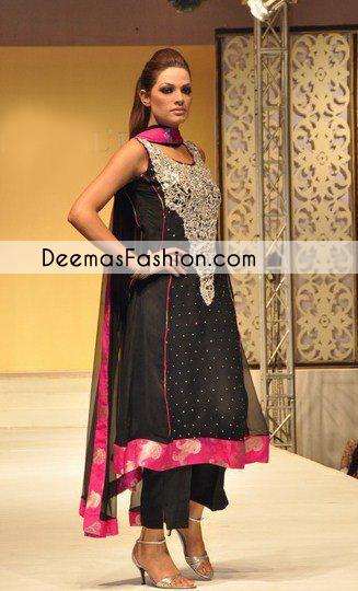 Black Party Wear Formal Dress