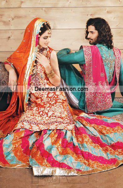 Designer Wear Collection Multi Sharara