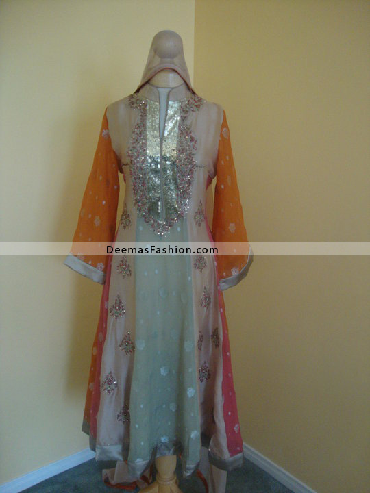 Latest-Designer-Clothes-Multi-Anarkali-Dress