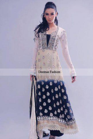 Latest Formal Dress Double Tone A-line Shirt Trouser