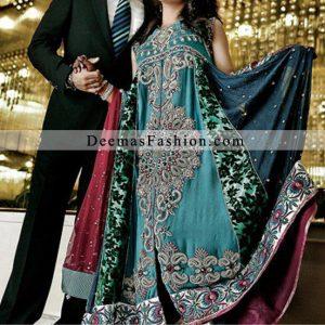 Multiple Panel Anarkali Dress