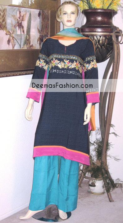 Black Ferozi Casual Wear Dress