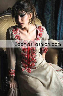 Grayish Brown Formal Wear Dress