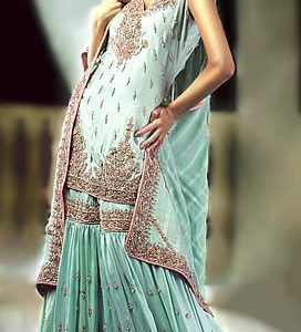 Light Blue Gharara